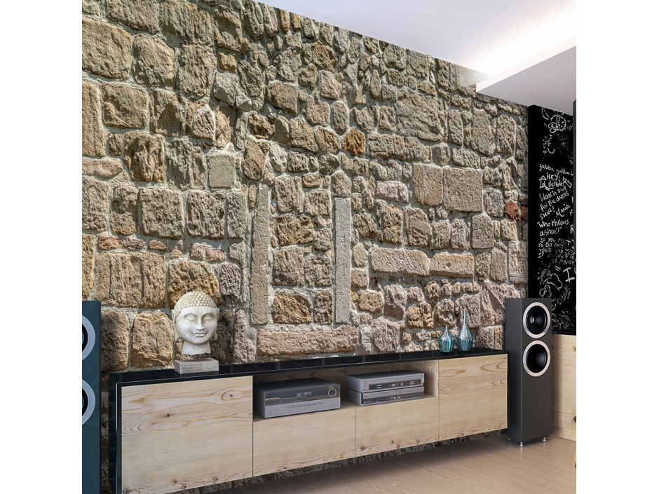 Papier peint  Wall From Stones