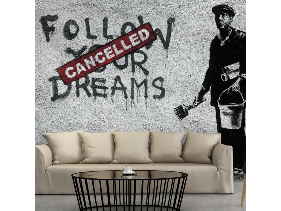 Papier peint  Dreams Cancelled (Banksy)