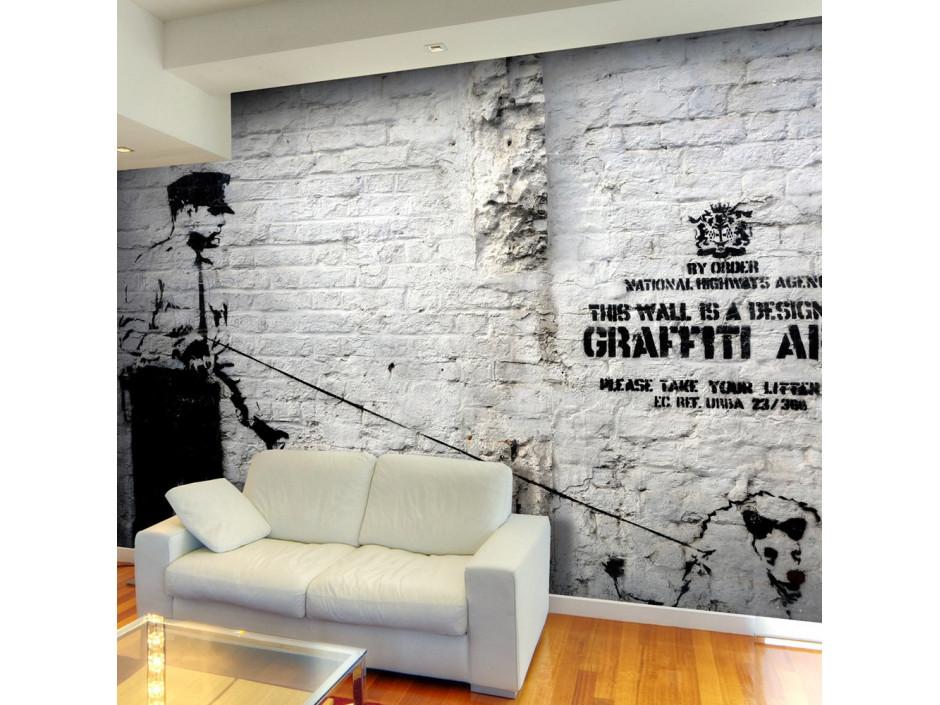 Papier peint - Banksy - Graffiti Area