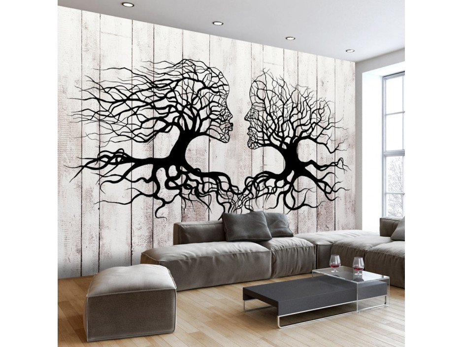 Papier peint A Kiss of a Trees