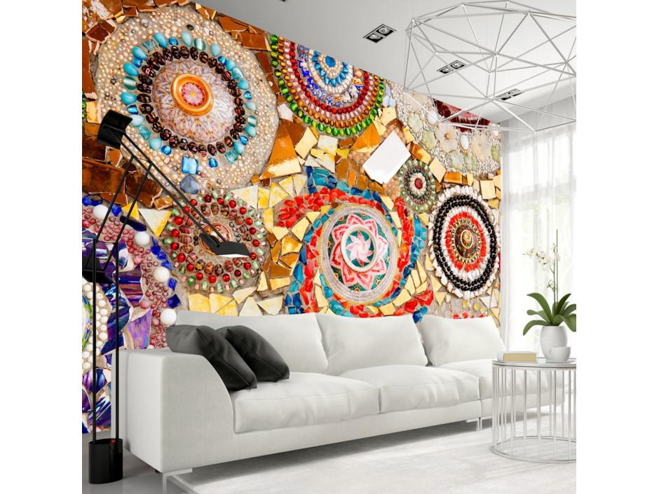 Papier peint  Moroccan Mosaic