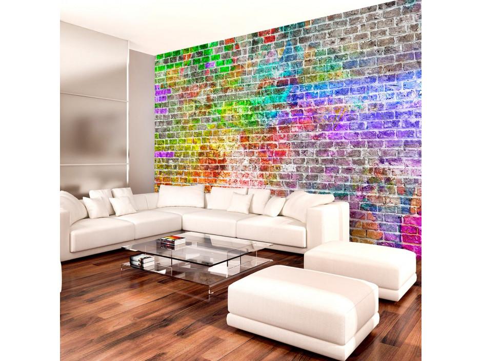 Papier peint  Rainbow Wall