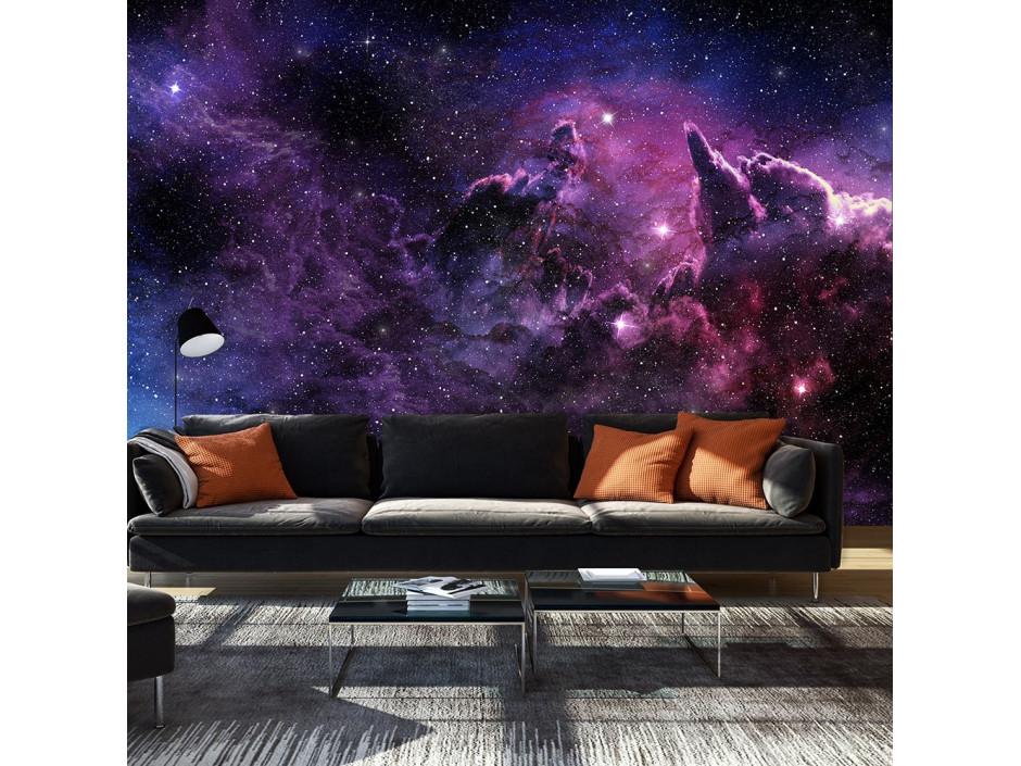 Papier peint  Purple Nebula