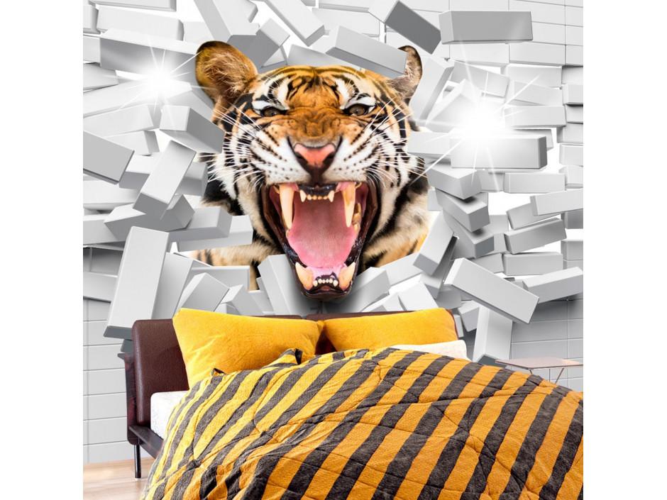 Papier peint  Tiger Jump