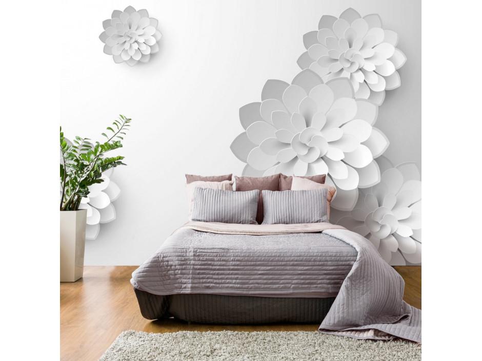 Papier peint - White Garden