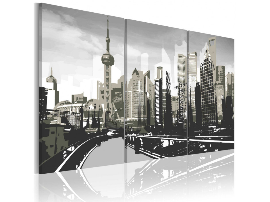 Tableau - Shanghai gris