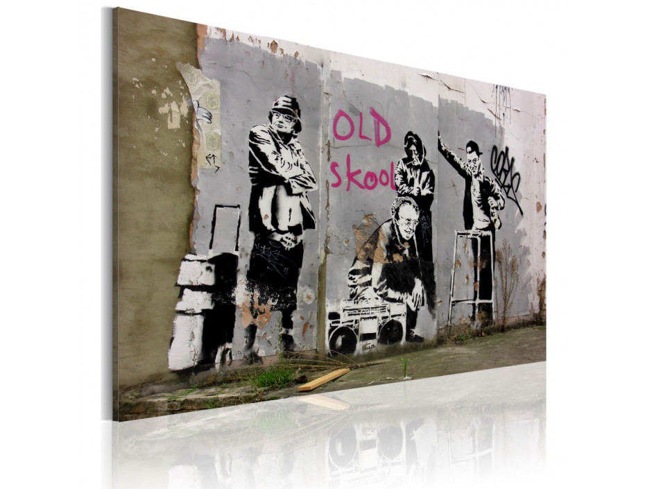 Tableau  Old school (Banksy)