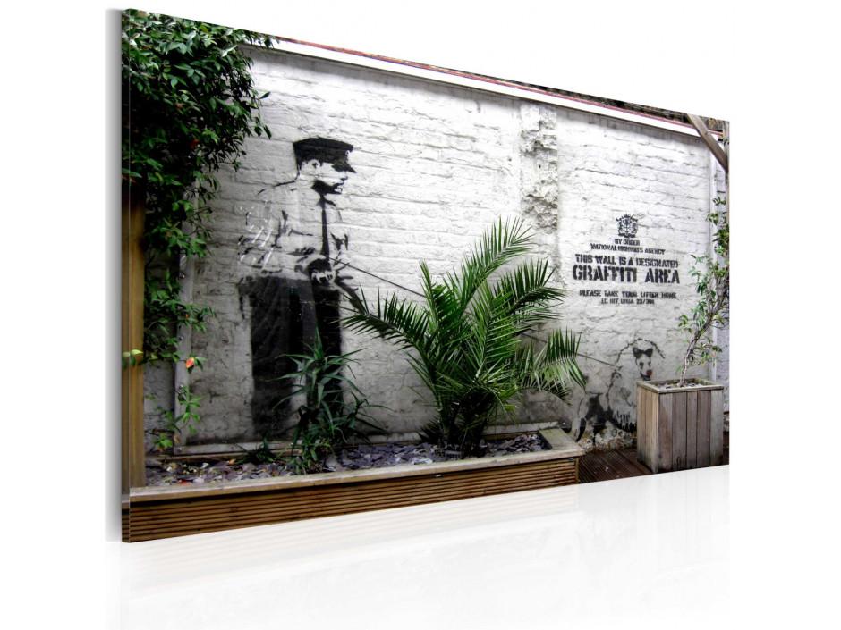 Tableau  Graffiti zone (Banksy)