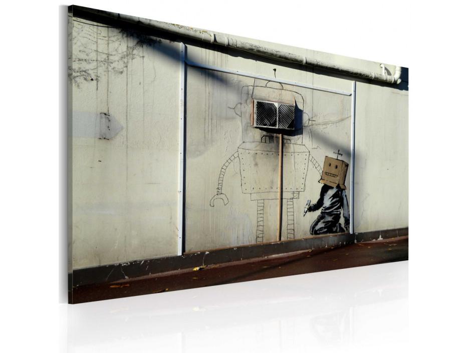 Tableau - Robots (Banksy)