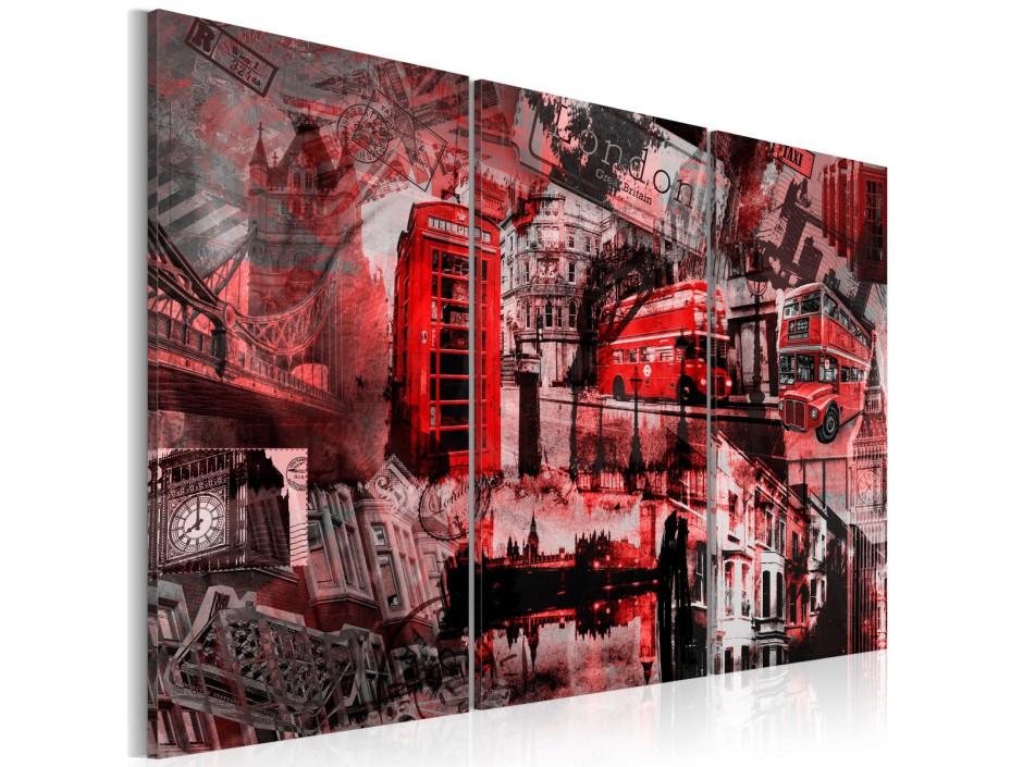 Tableau - Londres rouges