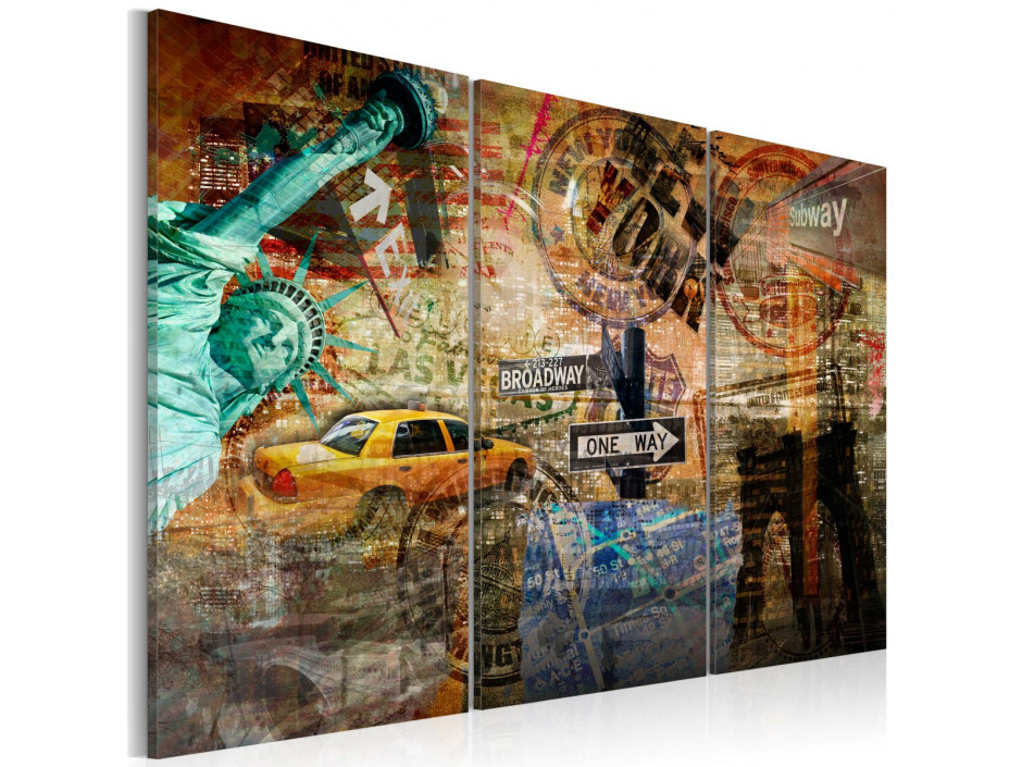 Tableau - L'essence de New York