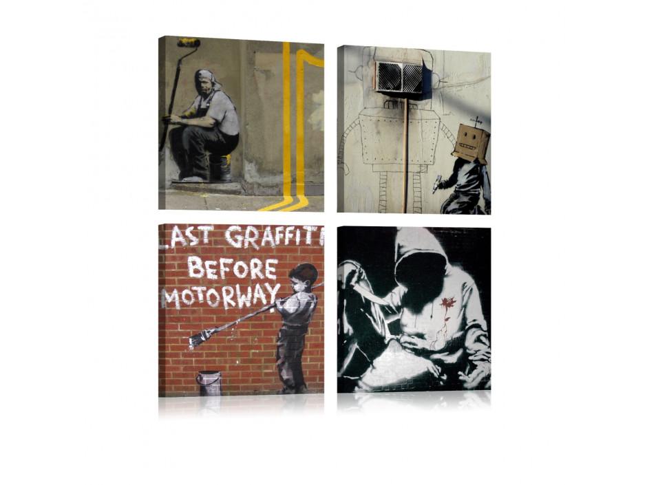 Tableau - Banksy - Street Art