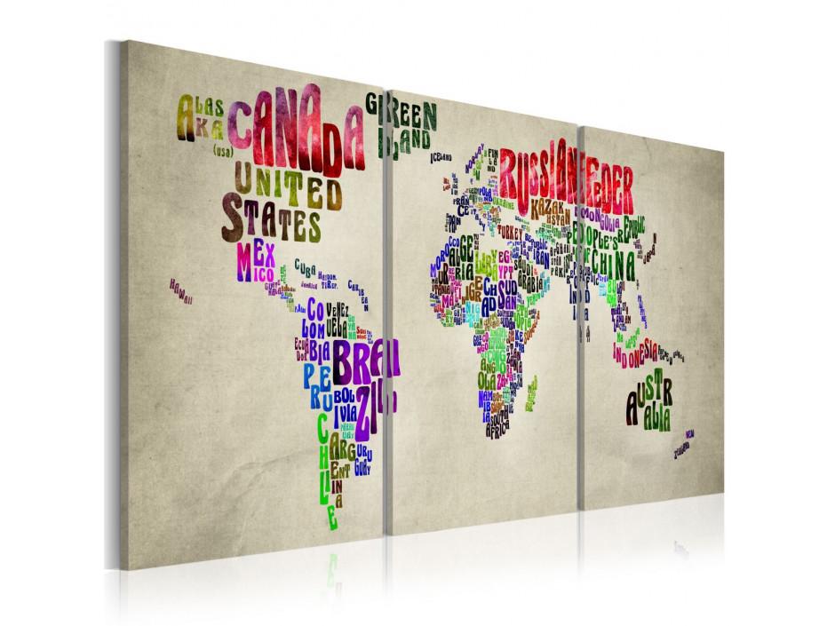 Tableau - Leçon de géographie