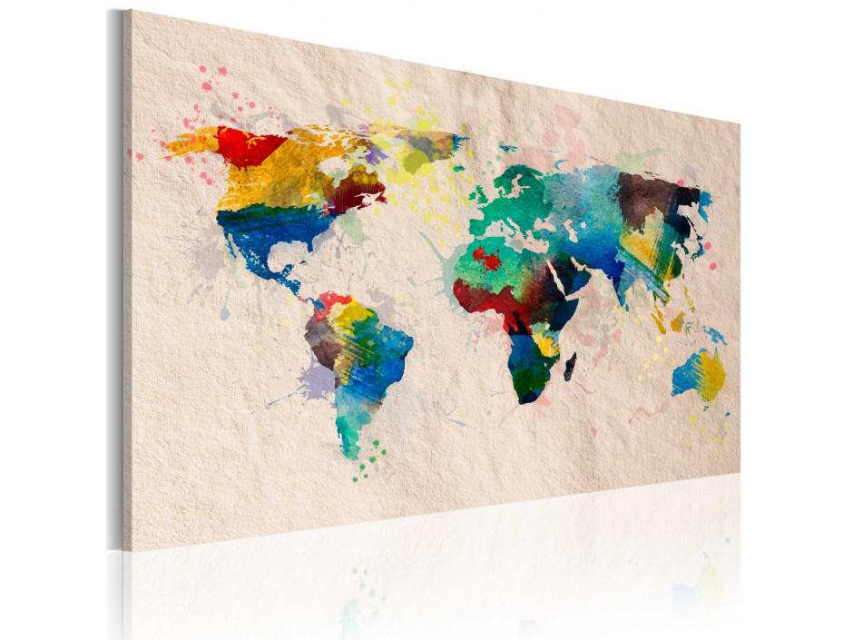 Tableau - Monde de couleurs