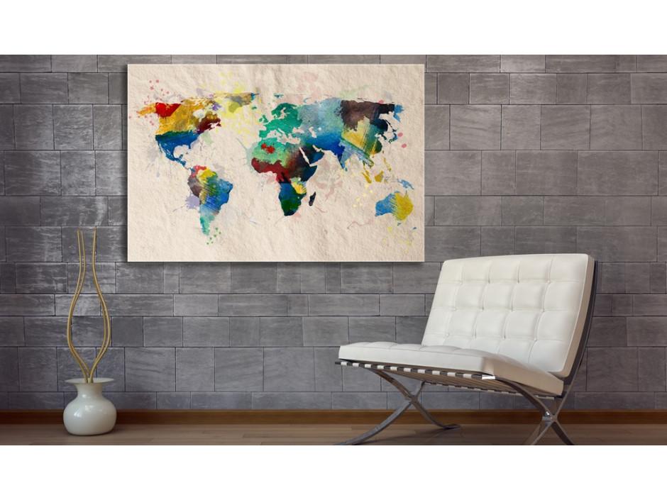Tableau  Monde de couleurs