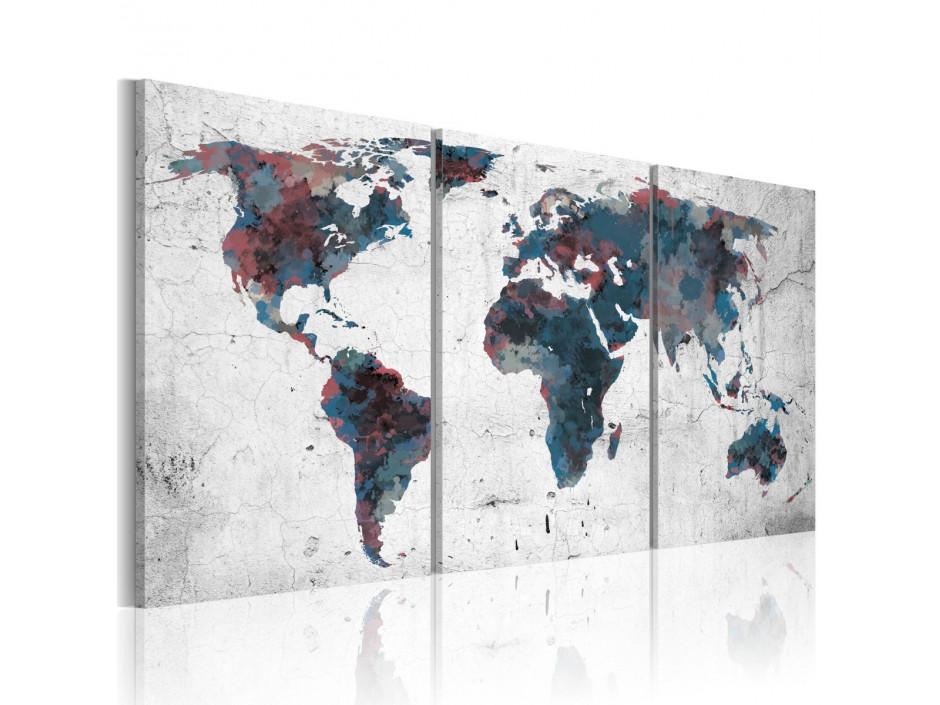 Tableau - La randonnée des continents