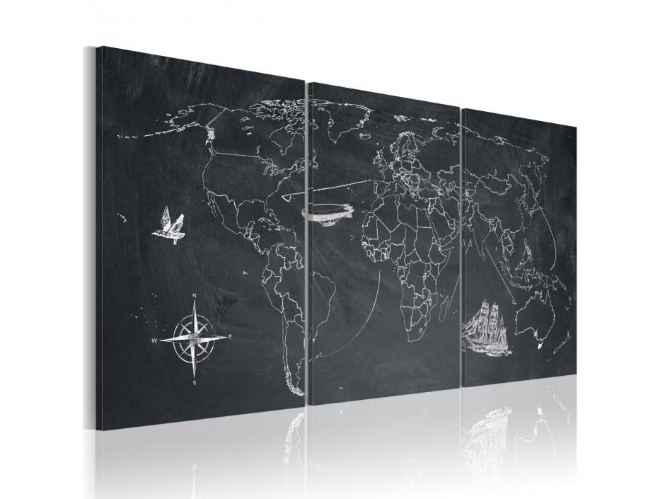 Tableau  Sur les traces de Christophe Colomb
