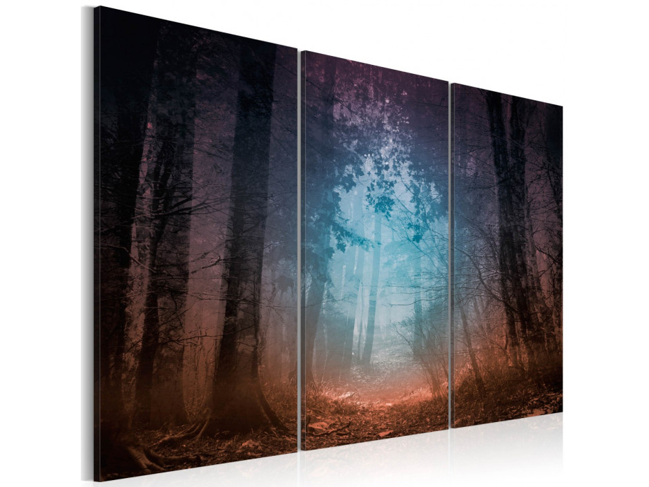Tableau - Edge of the forest - triptych