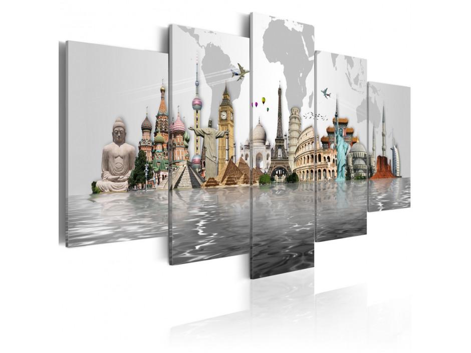 Tableau - Monuments mondiaux