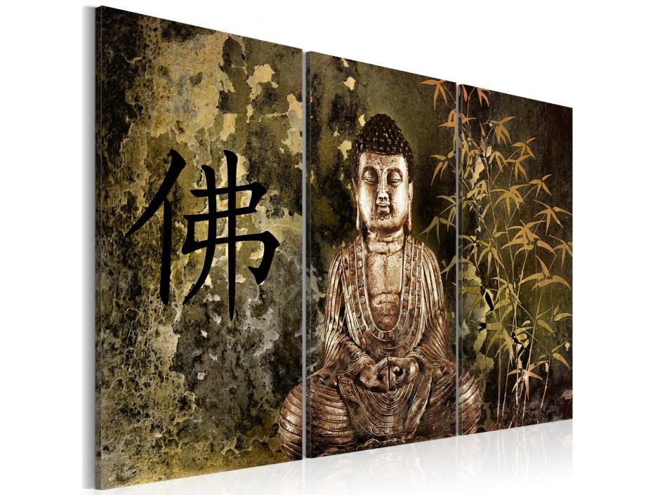 Tableau - Statue de Bouddha