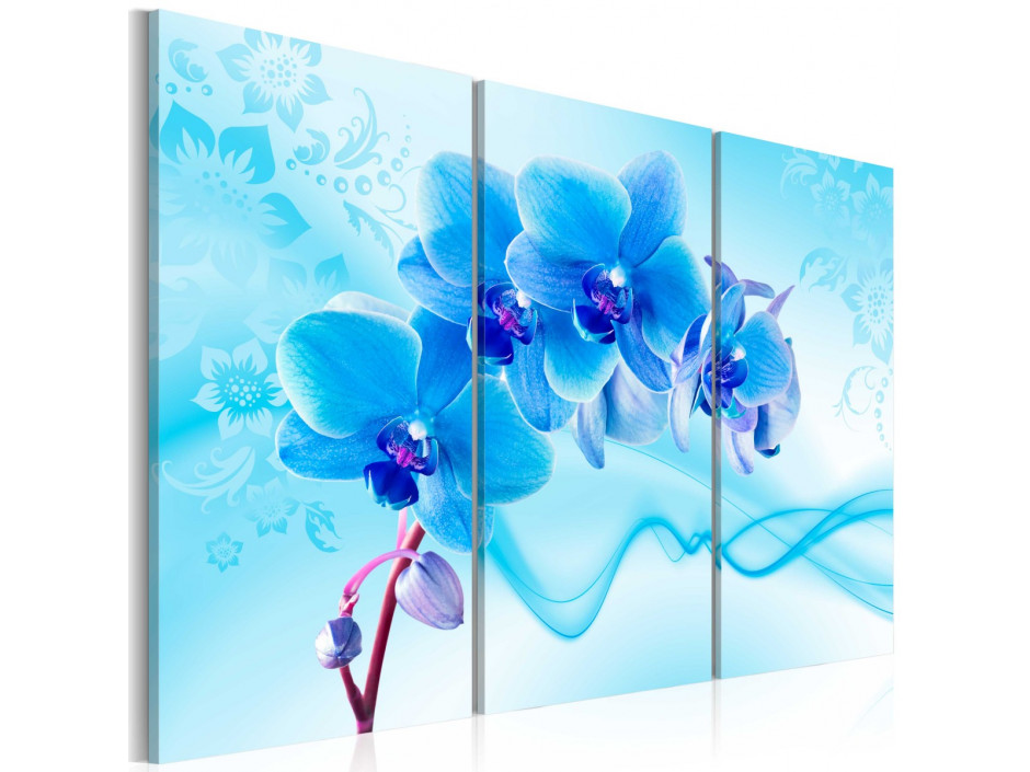 Tableau - Ethereal orchid - blue