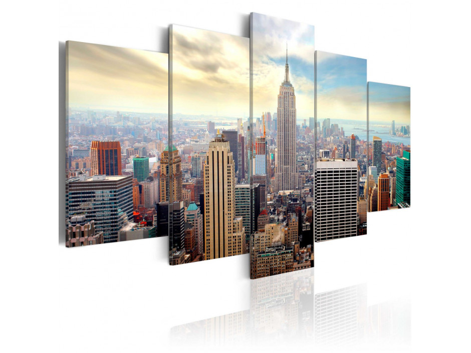 Tableau -  Morning in New York City