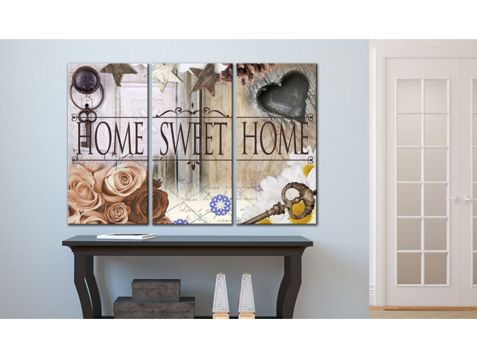 Tableau  Home in vintage style