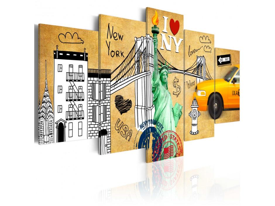 Tableau - I love New Jork City
