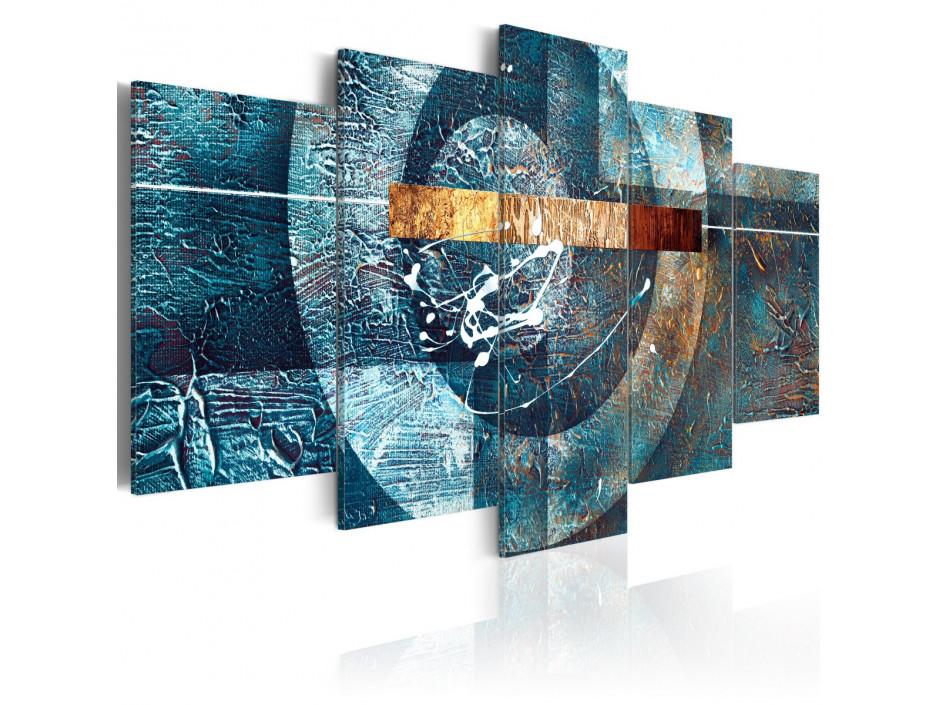 Tableau - Galaxie bleue