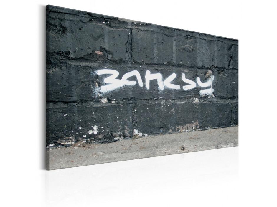 Tableau - Signature de Banksy