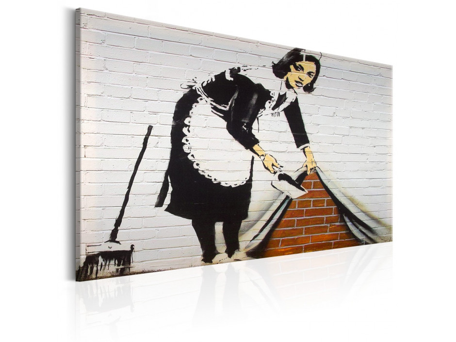 Tableau - Maid in London by Banksy