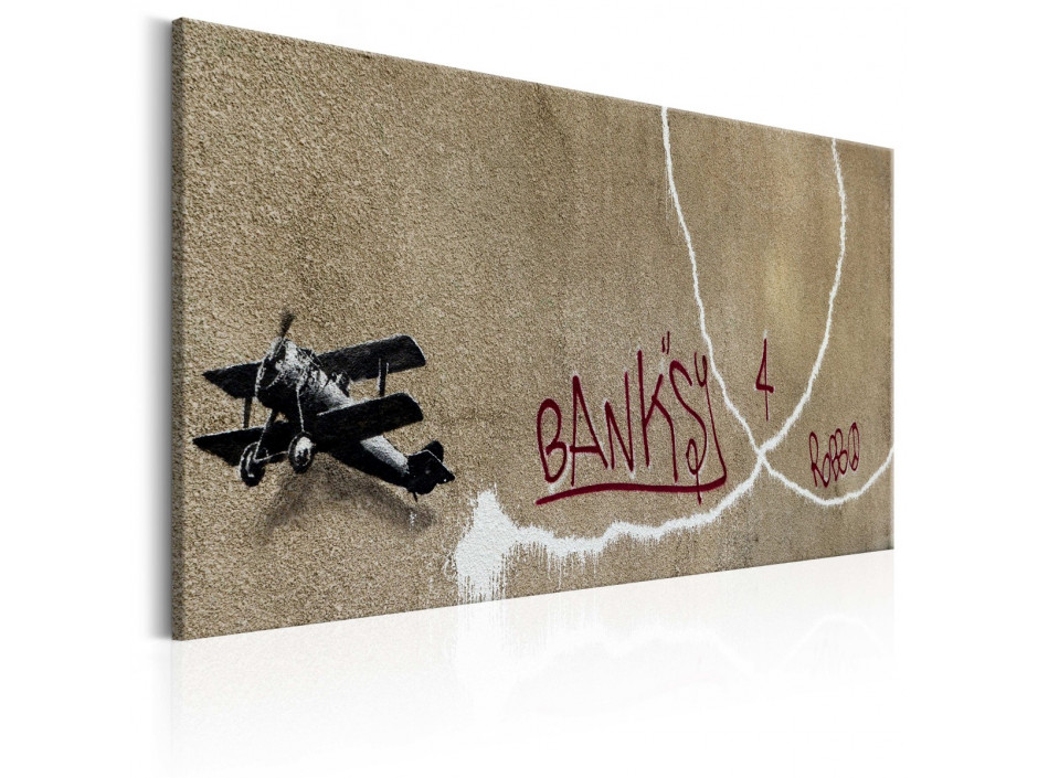 Tableau - Love Plane by Banksy