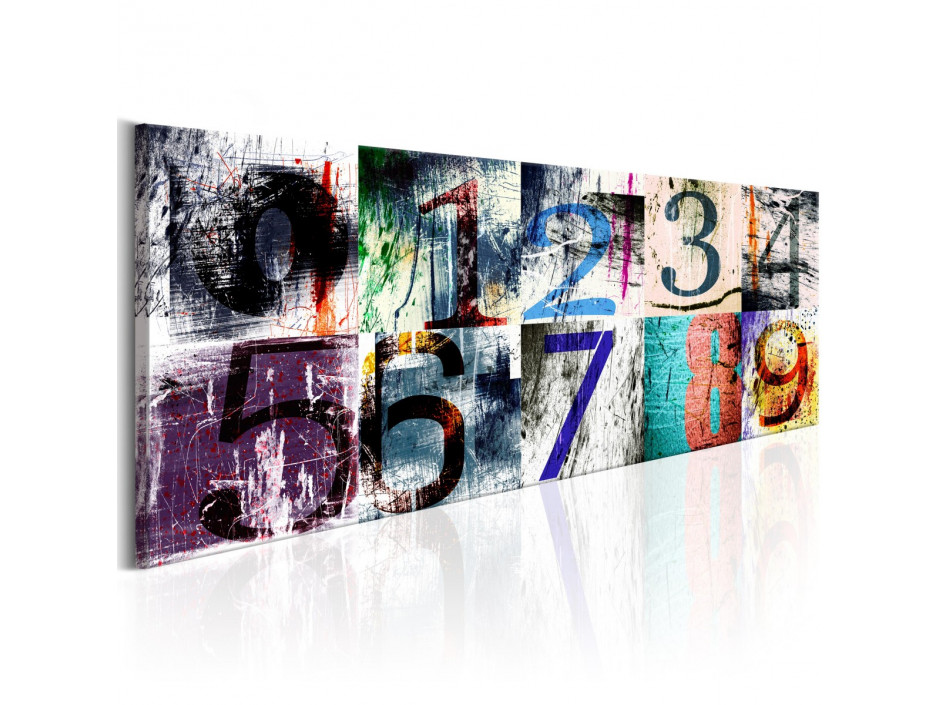 Tableau - Numéros colorés