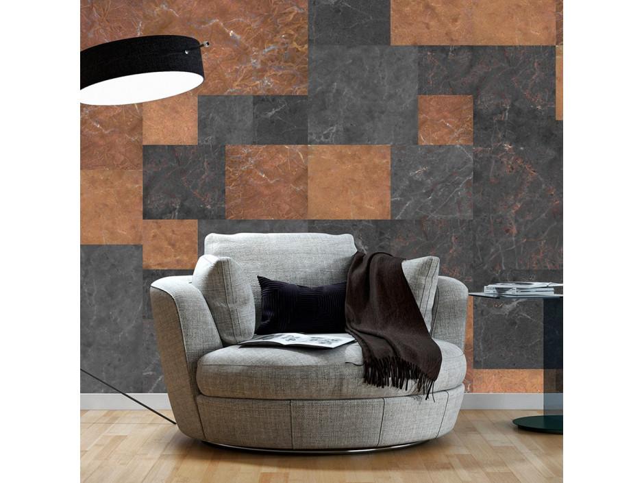 Papier peint   Marble Mosaic