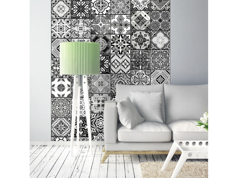Papier peint  Arabesque  Black& White