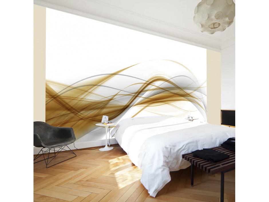 Papier peint  motif abstrait  digital art