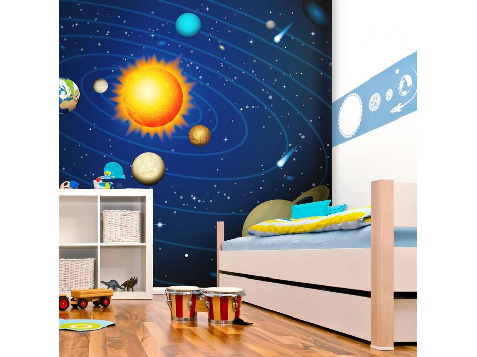 Papier peint  Système solaire