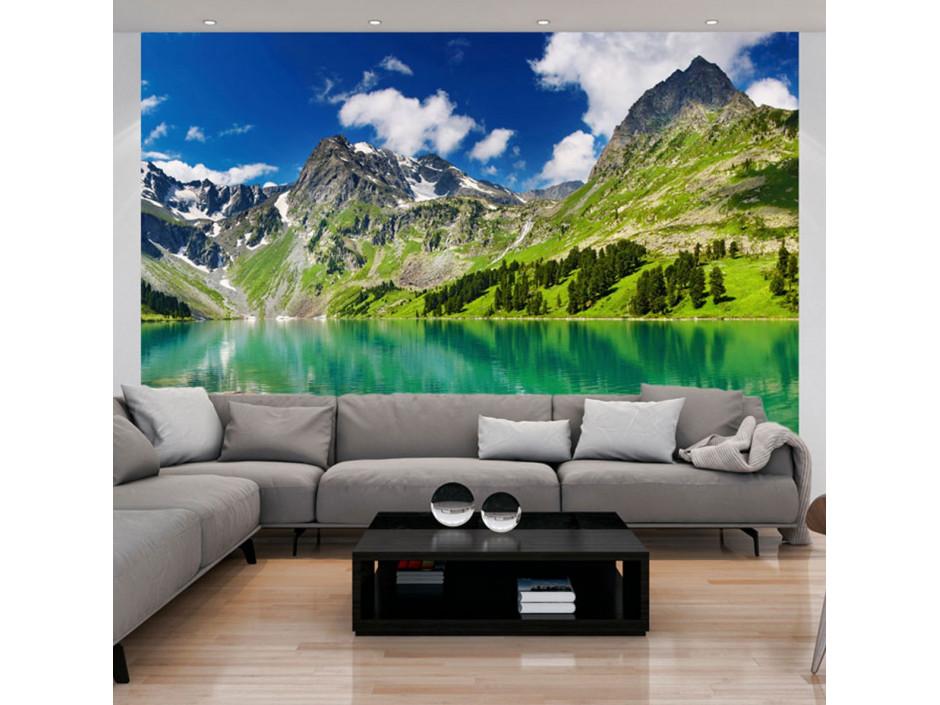 Papier peint - Lac de montagne
