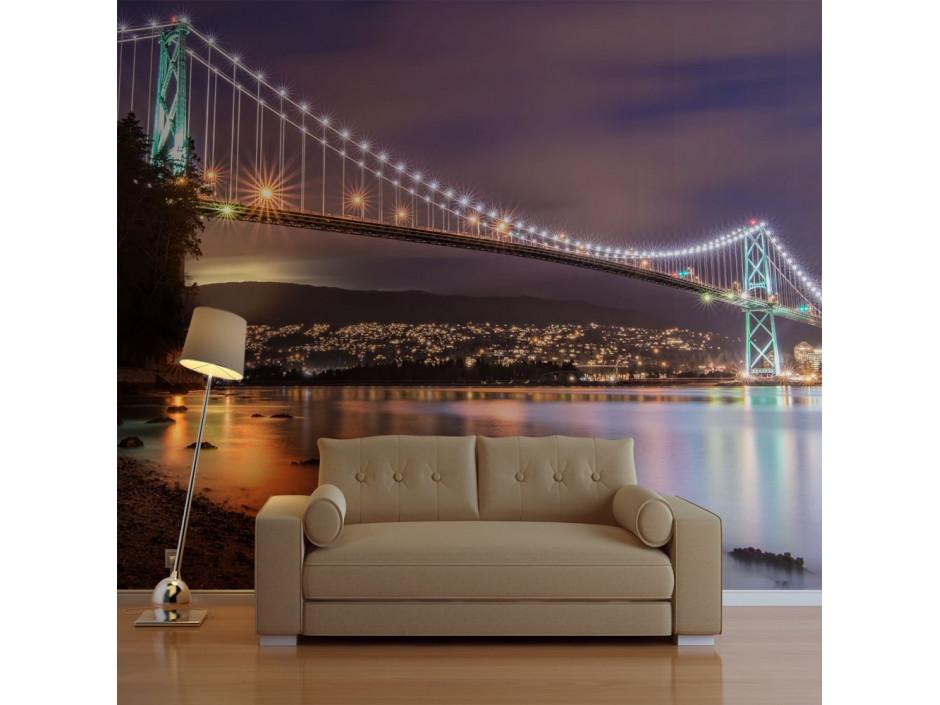 Papier peint - Lions Gate Bridge - Vancouver (Canada)