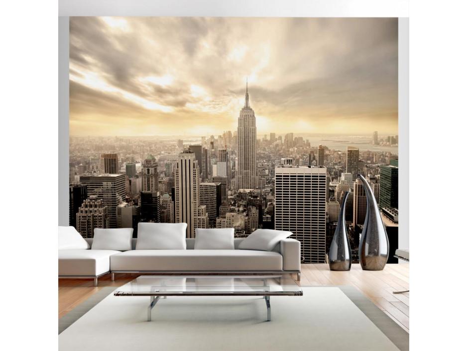 Papier peint - New York - Manhattan à l'aube
