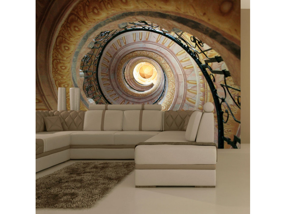 Papier peint  Decorative spiral stairs