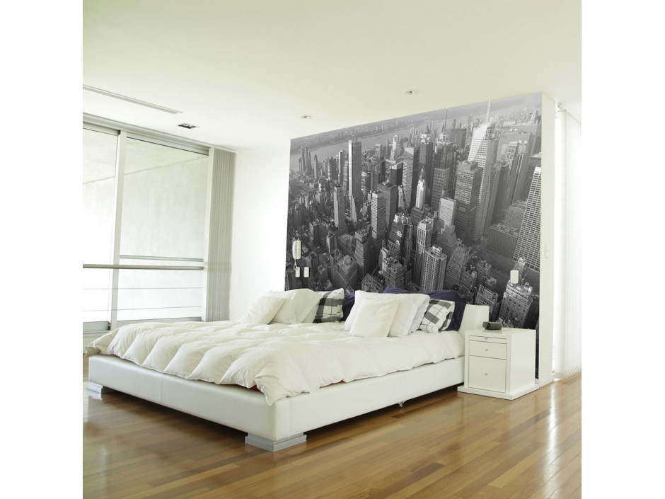 Papier peint - New York: gratte-ciels (vue à vol d'oiseau)