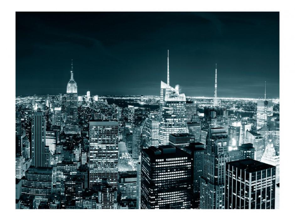 Papier peint  Vie nocturne à New York