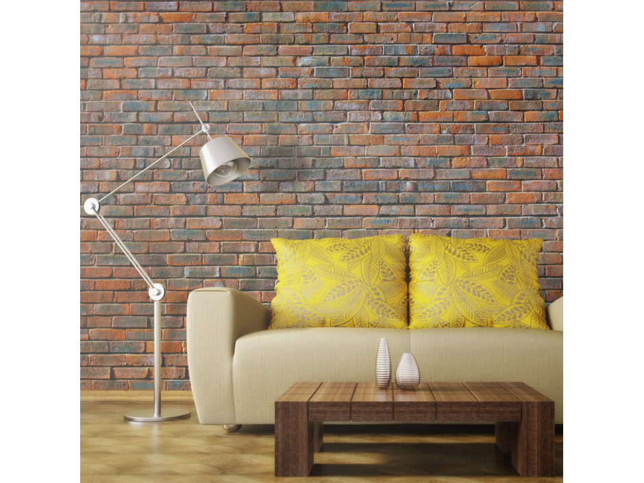 Papier peint - Mur en briques
