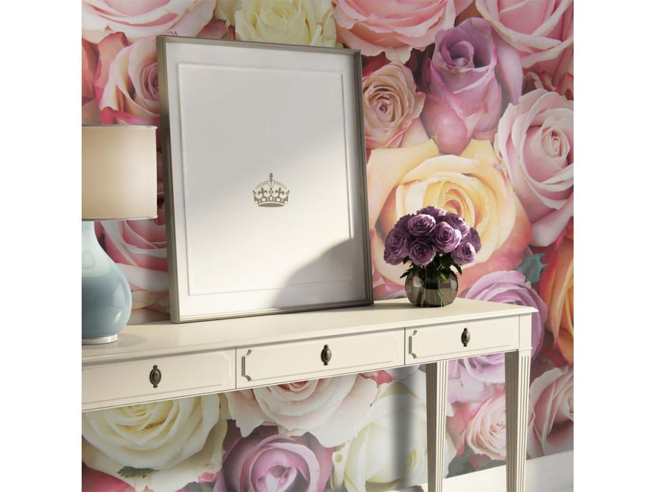 Papier peint  Pastel roses