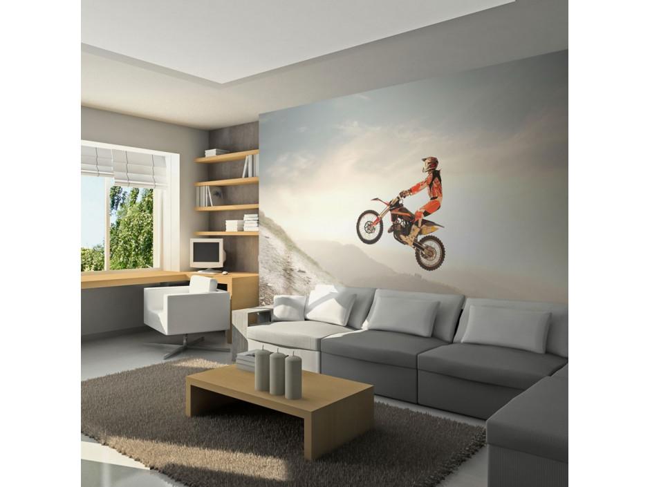 Papier peint - Sport motocycliste