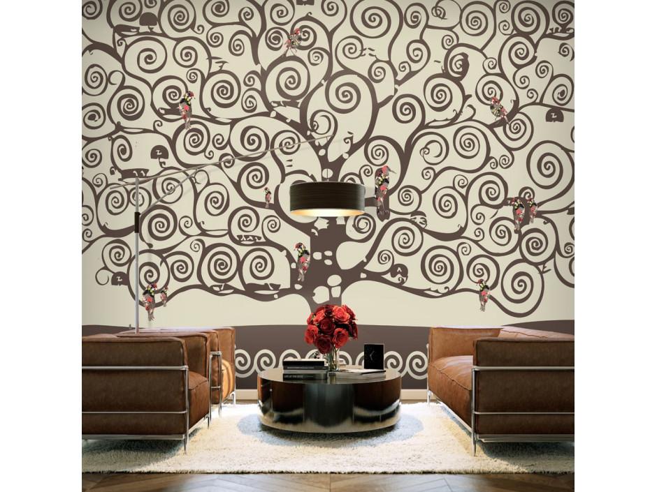 Papier peint - Spiral branches
