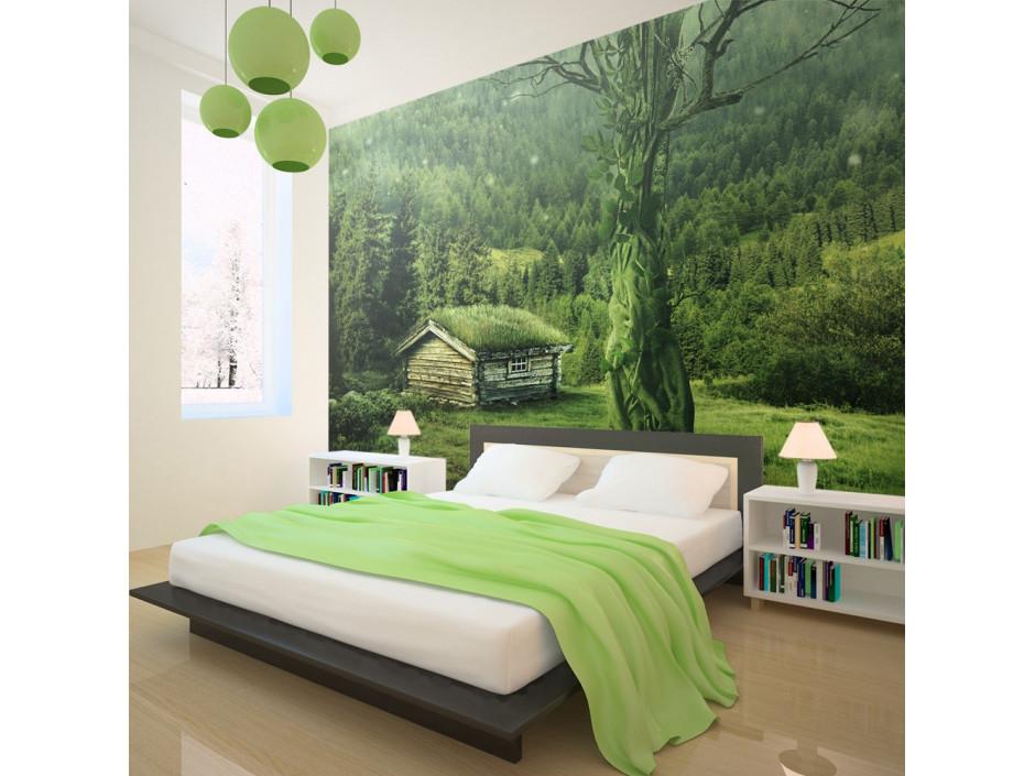 Papier peint  Green seclusion
