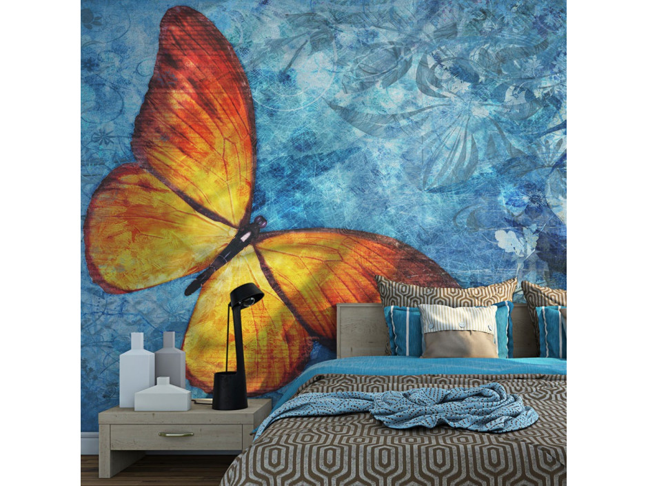 Papier peint  Fiery butterfly