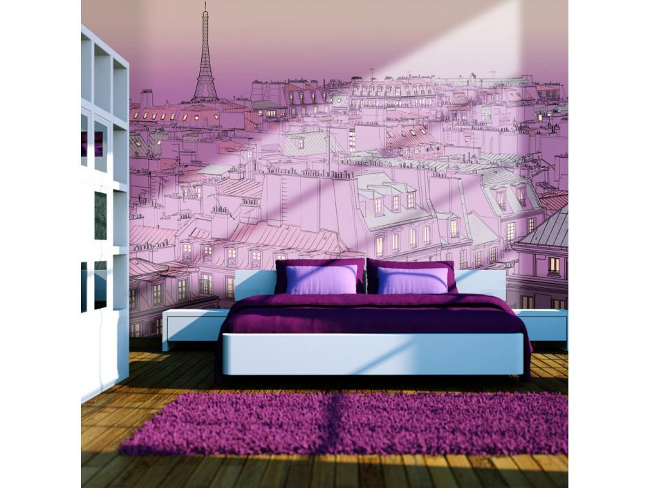 Papier peint  Vendredi soir à Paris